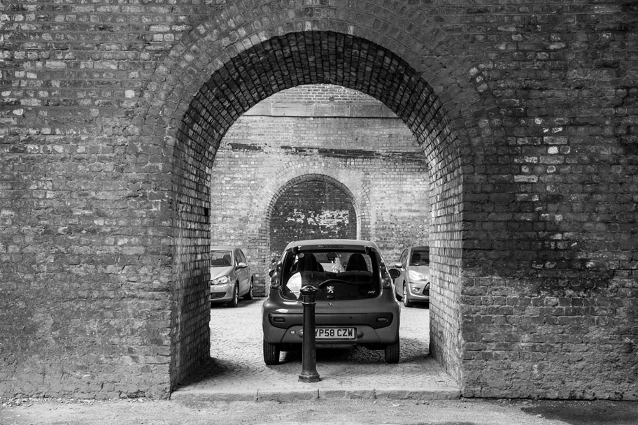 Car in Castlefield by Manchester Freelance Photographer Ian Philip Thompson