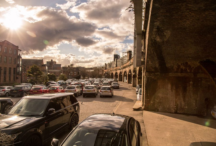 Castlefield Parking by Manchester Freelance Photographer Ian Philip Thompson